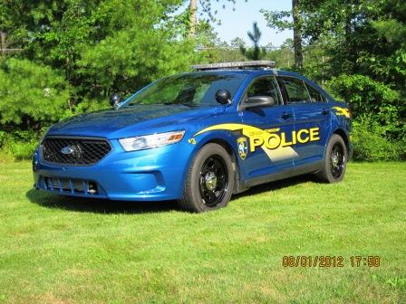 2013 4 Door Sedan Police Interceptor